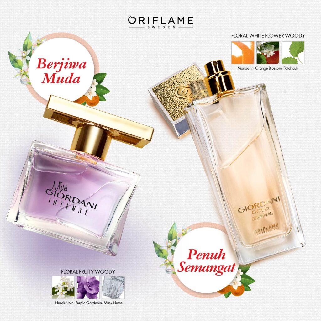 parfum Oriflame aroma bunga yang manis