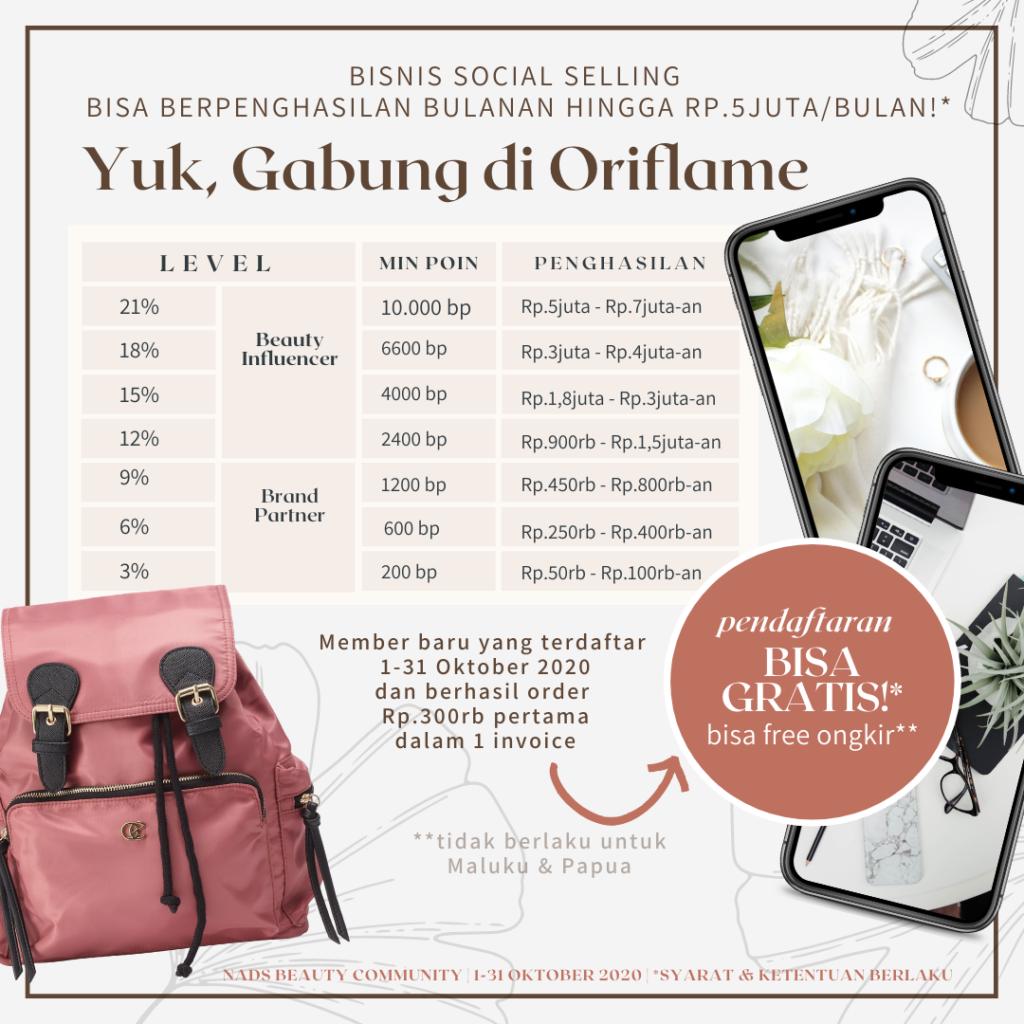 Promo Oriflame Oktober 2020 | Peluang Bisnis Online