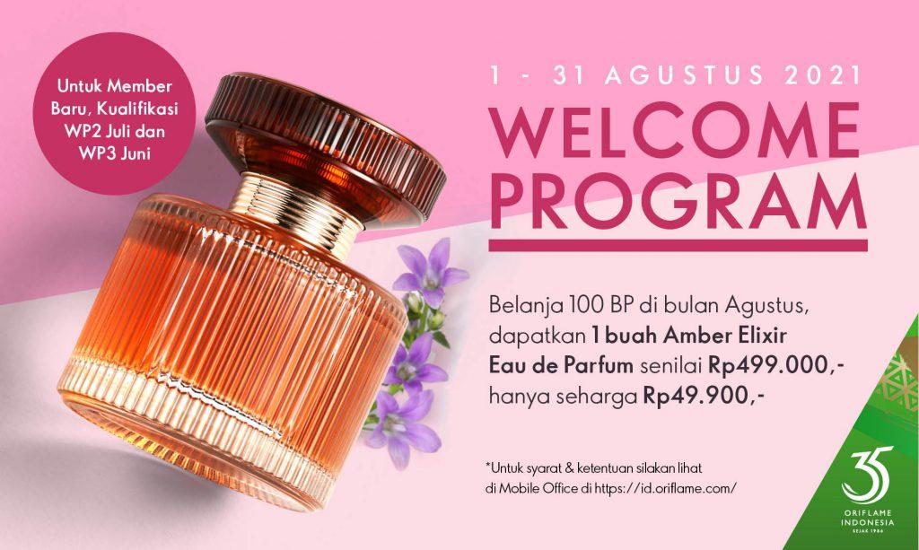 Welcome Program Oriflame